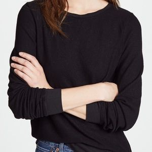 Wildfox black slouch crew neck